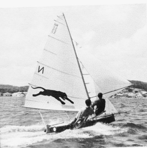 Australian Senior Champion 1964-65 'Panther' sailed by Wayne Sharrock and Randall Smith