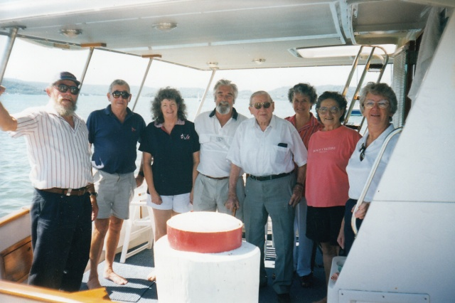 Graeme Andrews, Charles Sparrow and others 3rd jan 1999