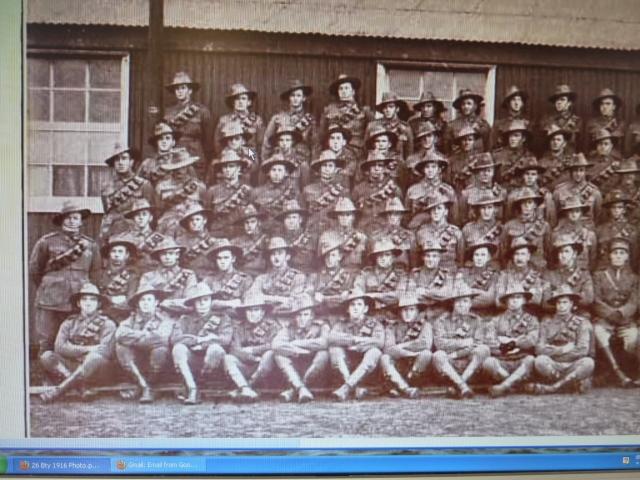 Sil Rohu 1916 7th Field Artillery brigade