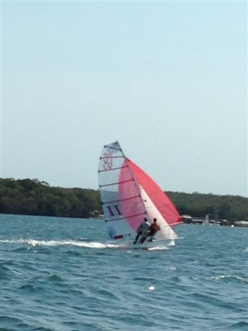 Leithal Too at South Lakes regatta Feb 2014